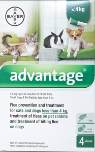 Advantage for Small Dogs And Cats