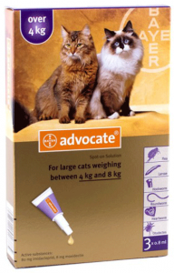 advantage multi - advocate large cat