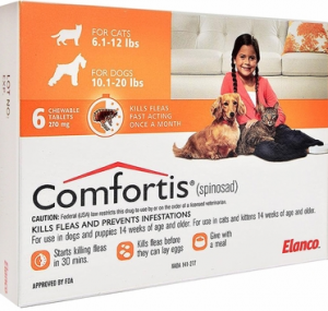 comfortis cats