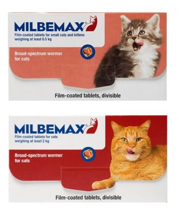 Milbemax Wurmkur für Katzen