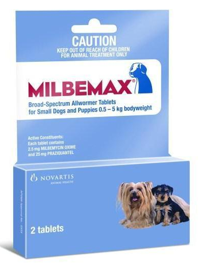 Milbemax für kleine Hunde