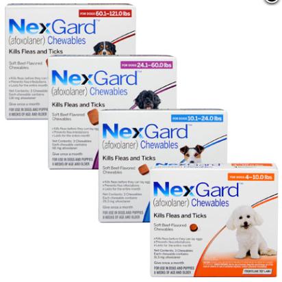 Nexgard für Hunde