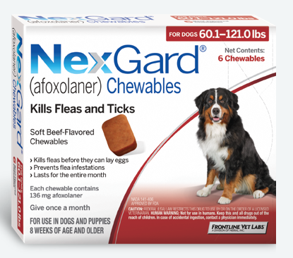 nexgard chewables large dog